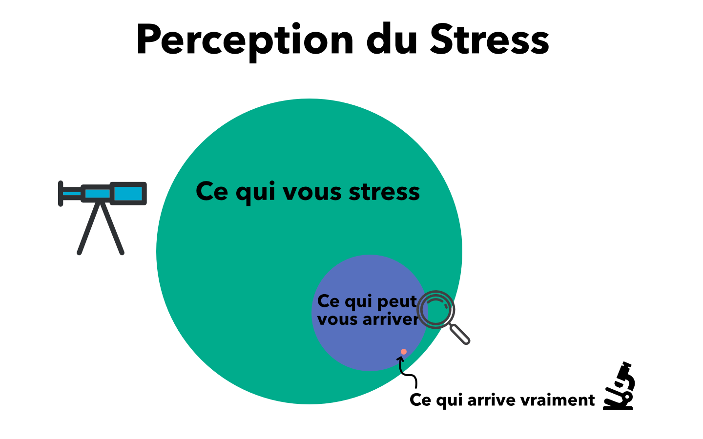 Le stress, un mécanisme naturel d'adaptation